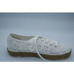 Sneakers femme, Banana Moon blanches