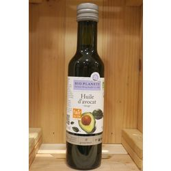 Bouteille huile avocat vierge - 250 ml